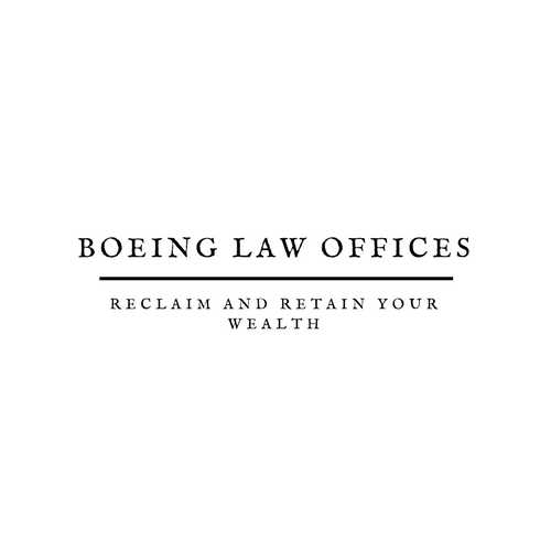 Grey and Brown Line Attorney & Law Logo